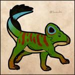 Protoceratops - PrehistorInktober
