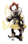 Pennywise/Sinestro Corps mashup