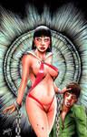 Vampirella commission by Shawn-Langley