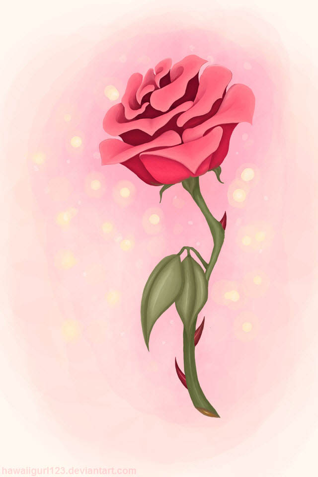iphone 4 wallpaper the beasts rose by hawaiigurl123 on