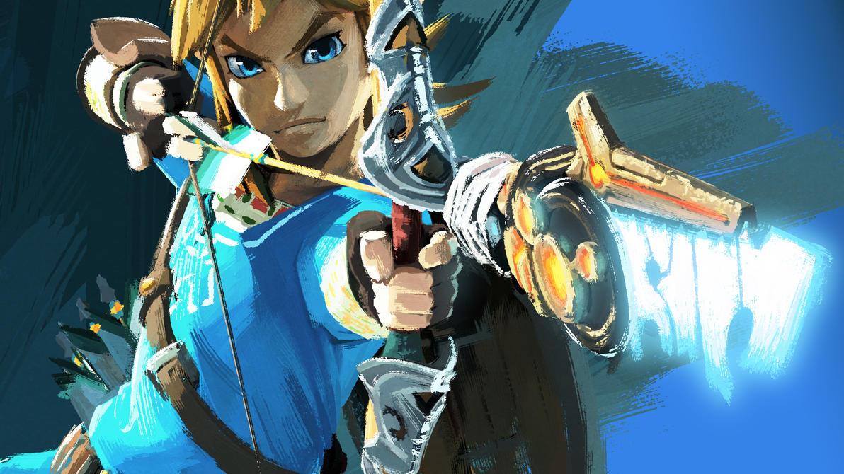 Zelda Breath Of The Wild Wallpaper 1080p: The Legend Of Zelda: Breath Of The Wild Wallpaper By