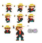 Mario Dross Sprites
