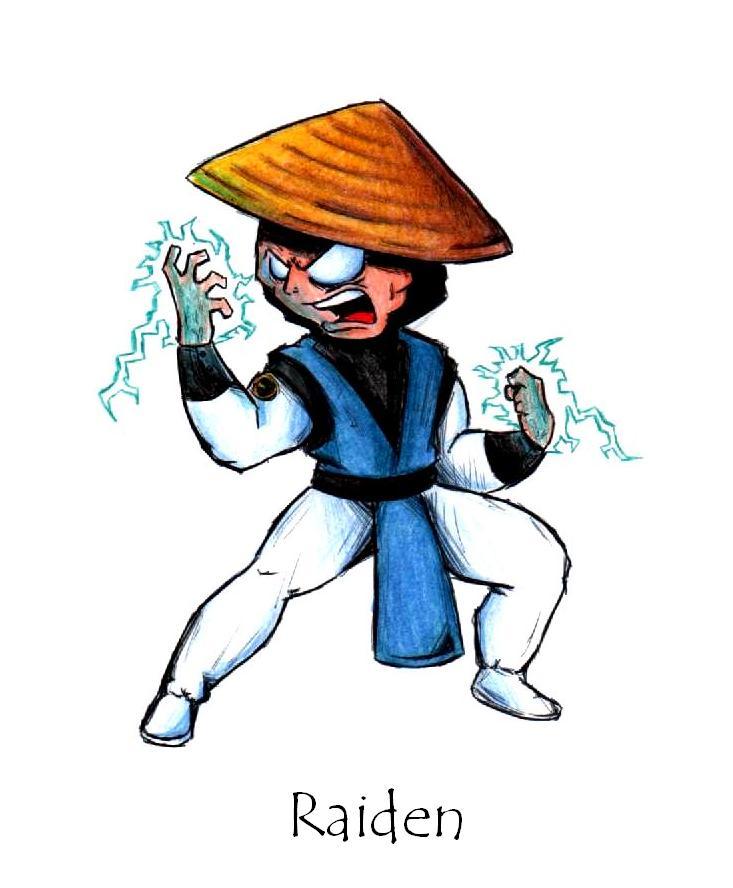 Mortal Kombat Raiden Drawings Raiden - Mortal Kombat...