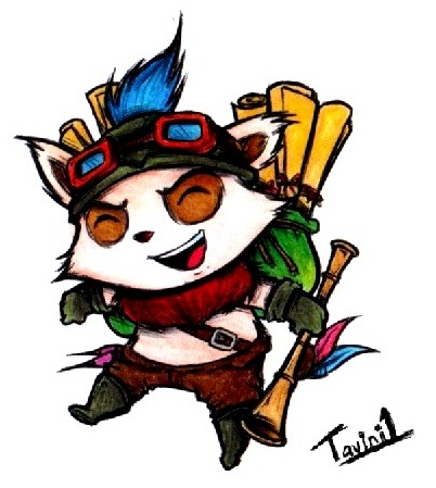 Teemo - League of Legends by tavini1