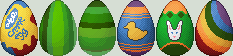 Easter Eggs by mokia-sinhall