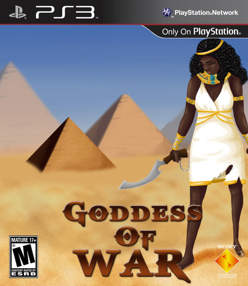 Goddess of War by mokia-sinhall