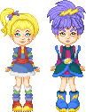 Rainbow Brite and Stormy by mokia-sinhall