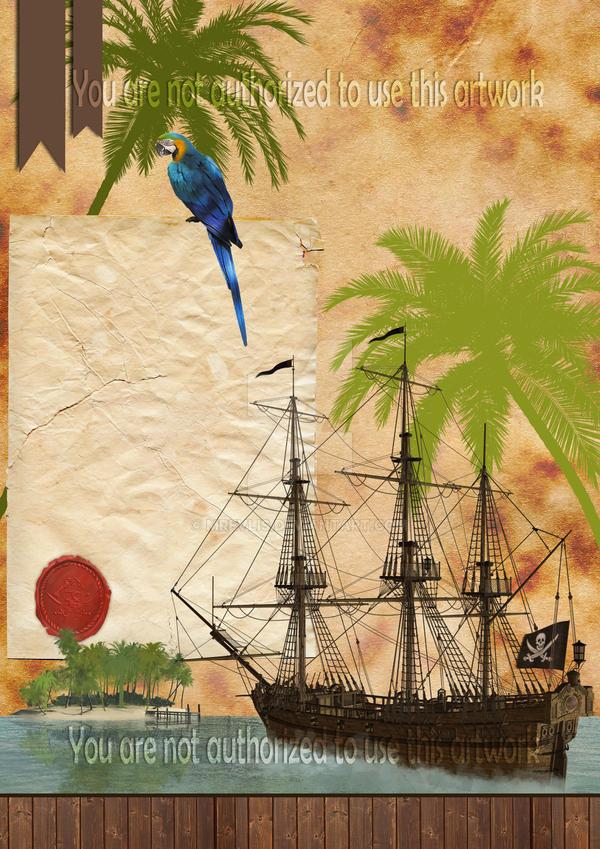 Pirate Theme Poster by MRevlis