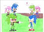 Sonic Underground vs Scourge Underground