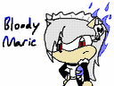 Bloody Marie The Skullhedgehog (Recolored) by sonic4ever760