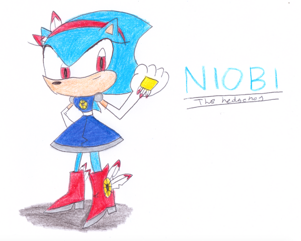 -Gift- Niobi the Hedgehog by Jack-Hedgehog