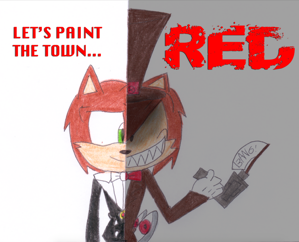 Let s paint the town red by jack hedgehog on deviantart