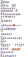Ultimate SMG4 Sprite Sheets by Jack-Hedgehog