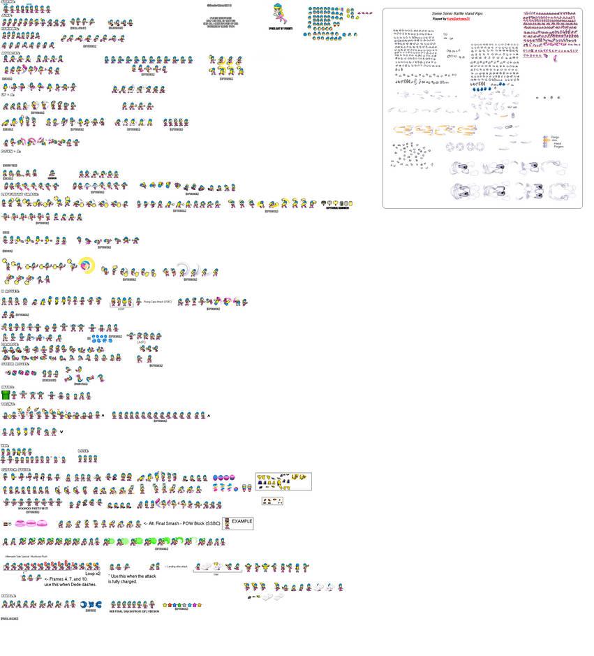 Dede Ultimate Sprites Sheets (UPDATED) by Jack-Hedgehog
