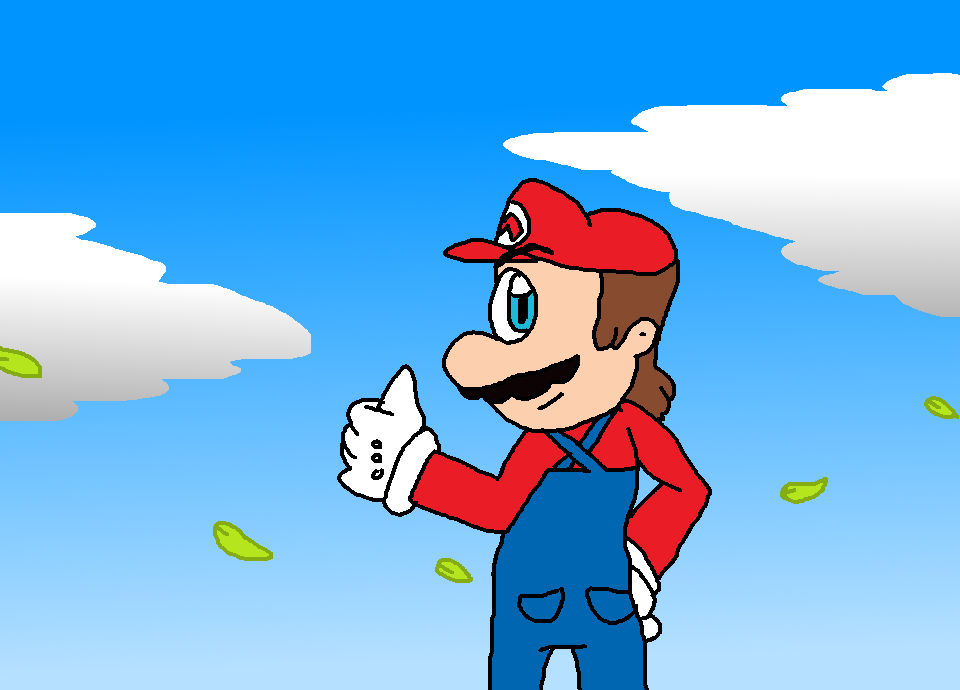 Mario Thank You So Much A For To Playing My Game By Jack