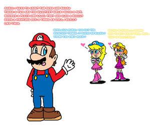 Mario Reactions of the Dede Sisters by Jack-Hedgehog