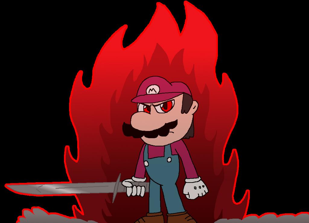 Devil Mario From Power Star By Jack Hedgehog On Deviantart