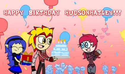 Hudson's B-Day Gift