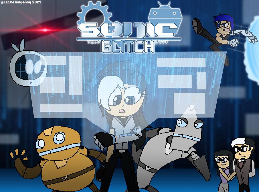 Sonic Glitch Poster