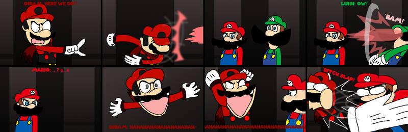 Mario vs Oiram