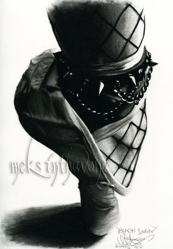 Black Swan by disdaindespair