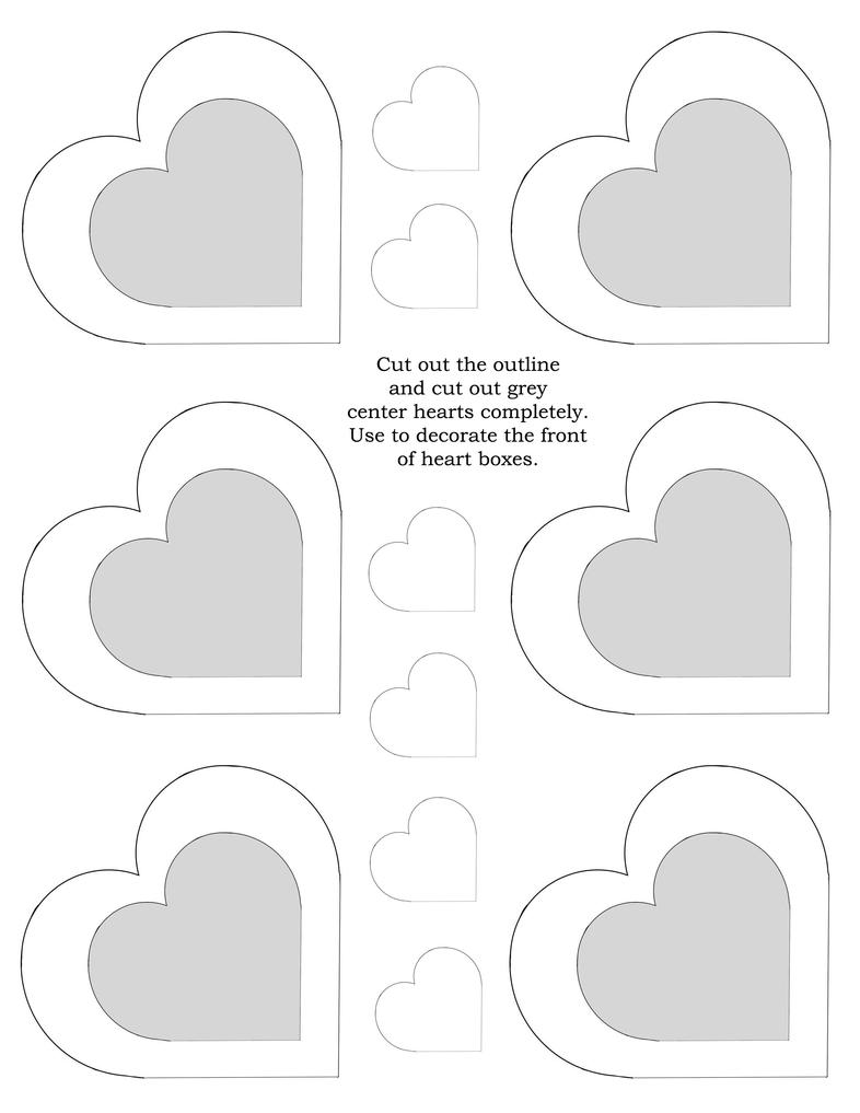 Heart box template decorations by disdaindespair on deviantart for Decor 6 template