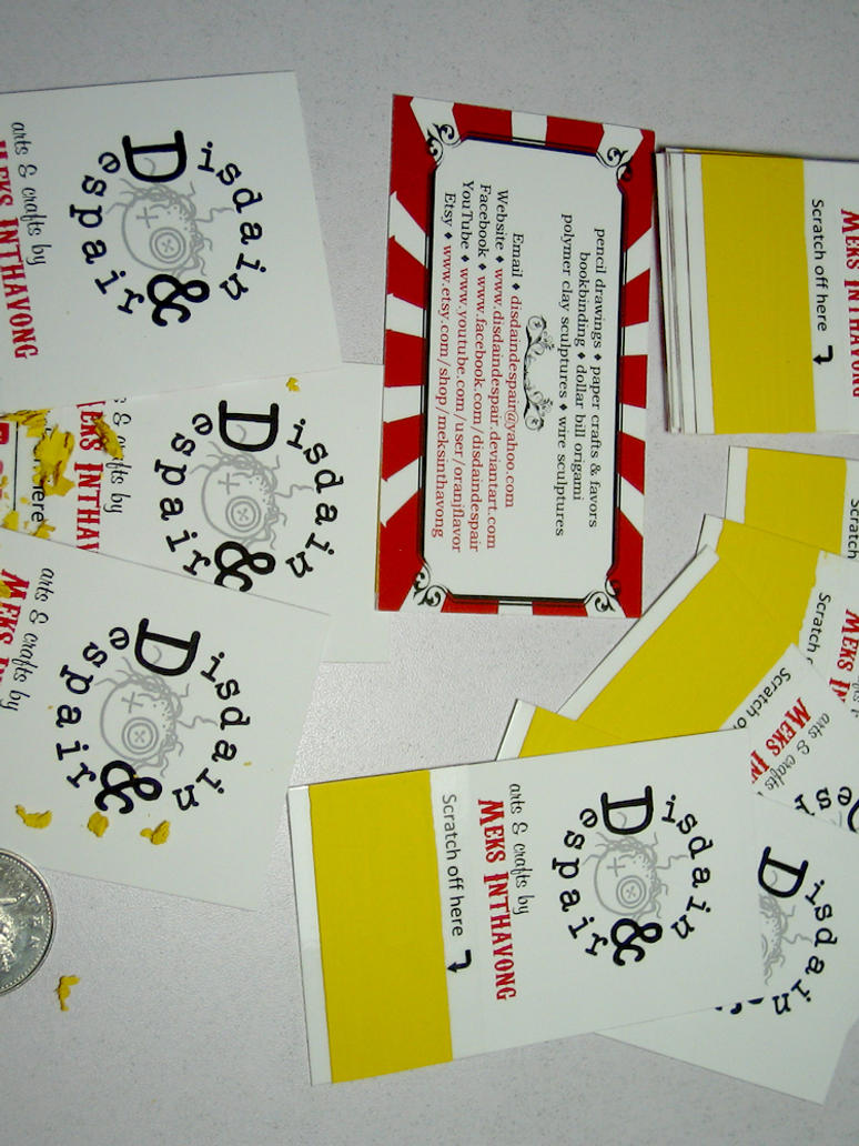 Scratch off business cards by disdaindespair on deviantart scratch off business cards by disdaindespair colourmoves