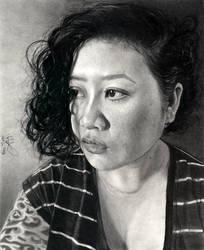 Self Portrait V by desdainart