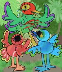 birds by robotboxers