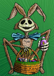 Jack Skellington Easter by TCosbyJr