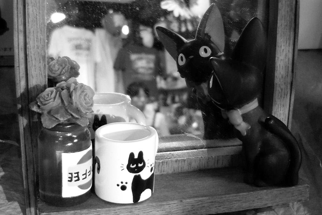 Jiji in shop Ghibli by h2j