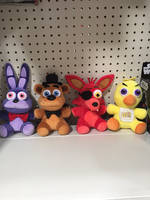 Five nights at Freddy's plushes by avatarviola