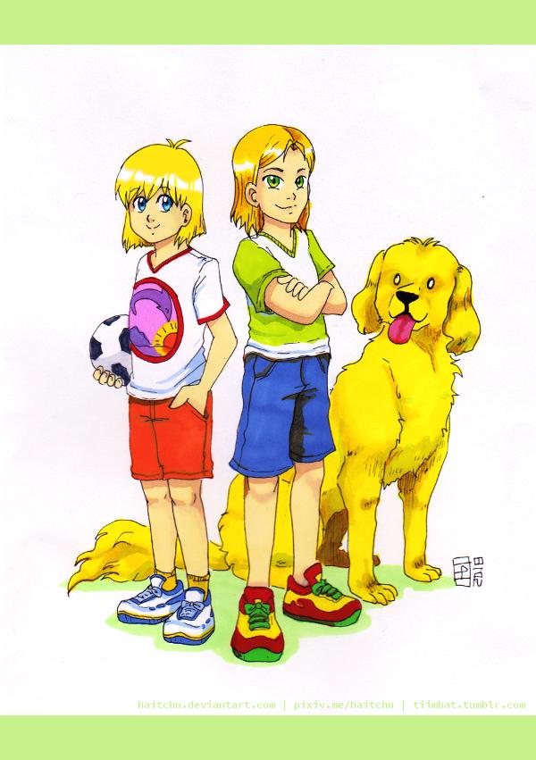 Kids by haitchu