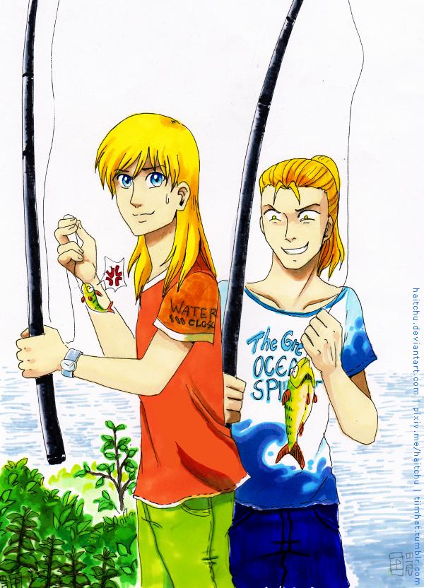 Fishing by haitchu