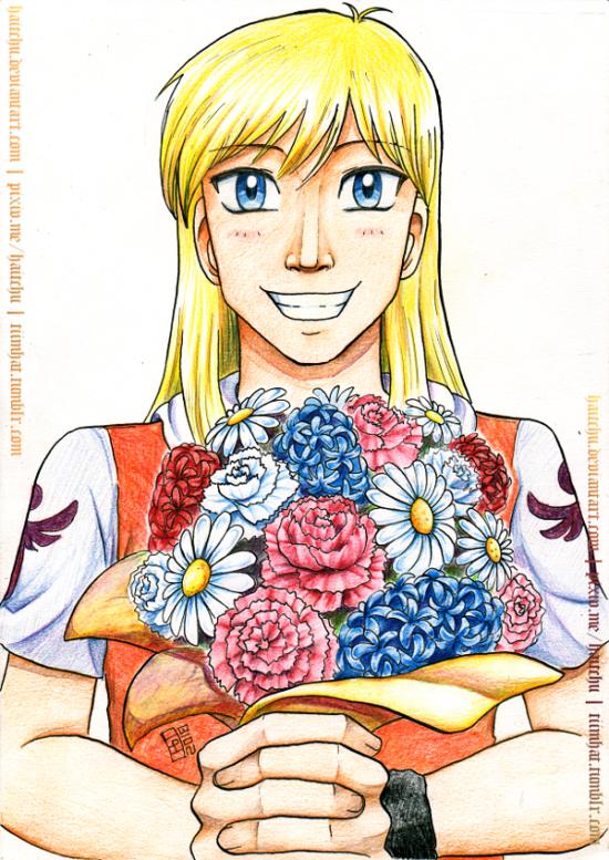 Carnation Bouquet by haitchu
