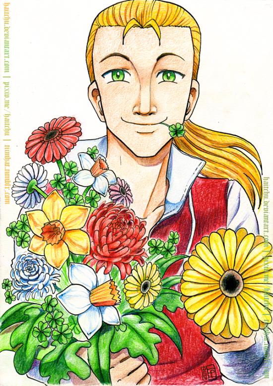 Gerbera Bouquet by haitchu