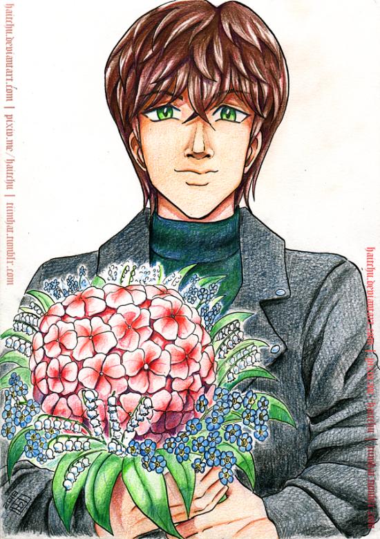 Hydrangea Bouquet by haitchu
