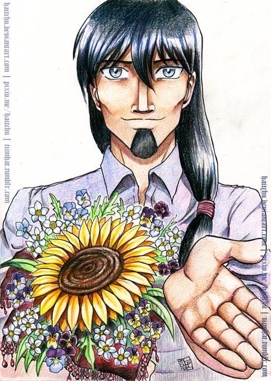 Sunflower Bouquet by haitchu
