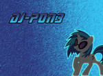 Dj-PON3/Vinyl Scratch Wallpaper