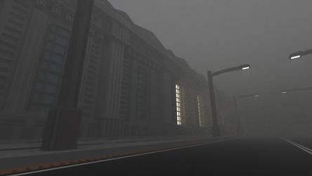 City Render(Fog test version) - Blender by lenyyfla2