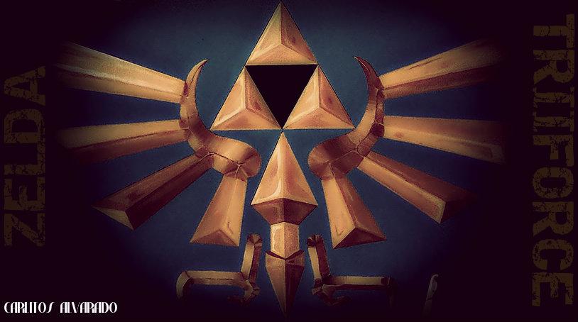 Zelda Triforce by MildNudity