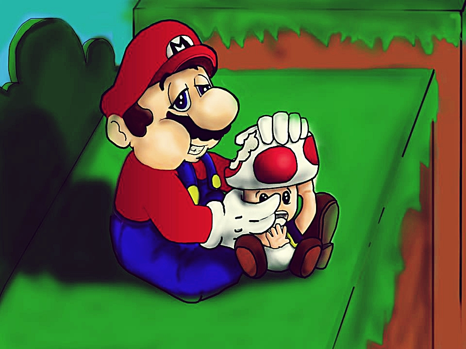 Mario Shrooms (unfinished) by MildNudity