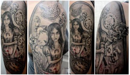 Alice: Madness Returns Tattoo