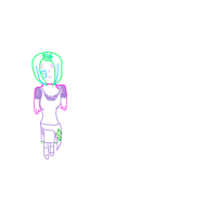 colorfull lineart:Uchiha Hoshi: by FallenAngelRei-sama