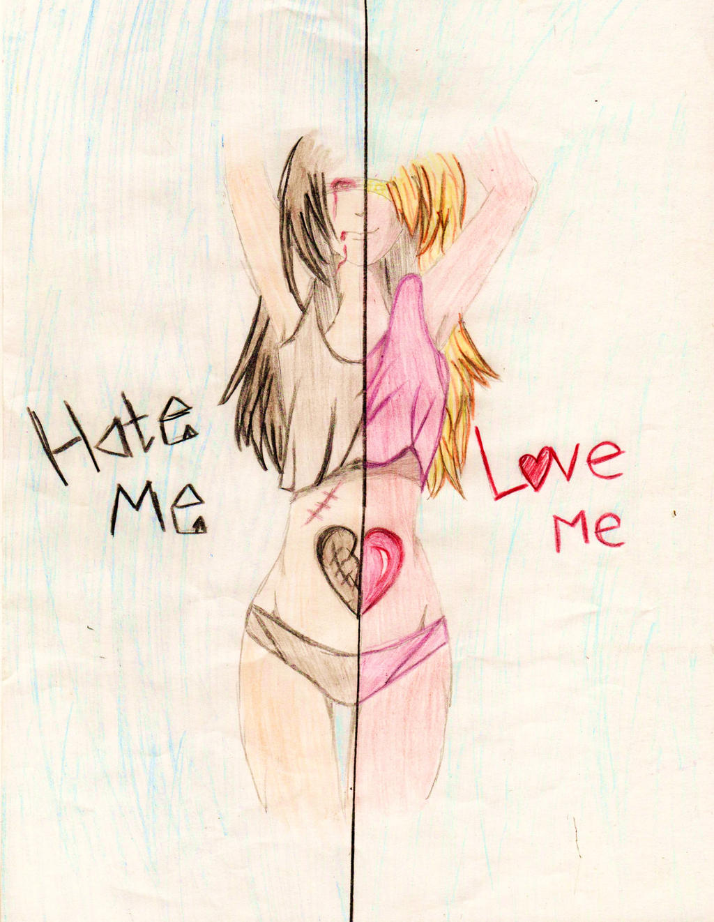 Love Me Hate Me By Cute But Insane On Deviantart