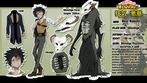 [BNHA OC] Villain 'Wendigo'   Akui Kyouki