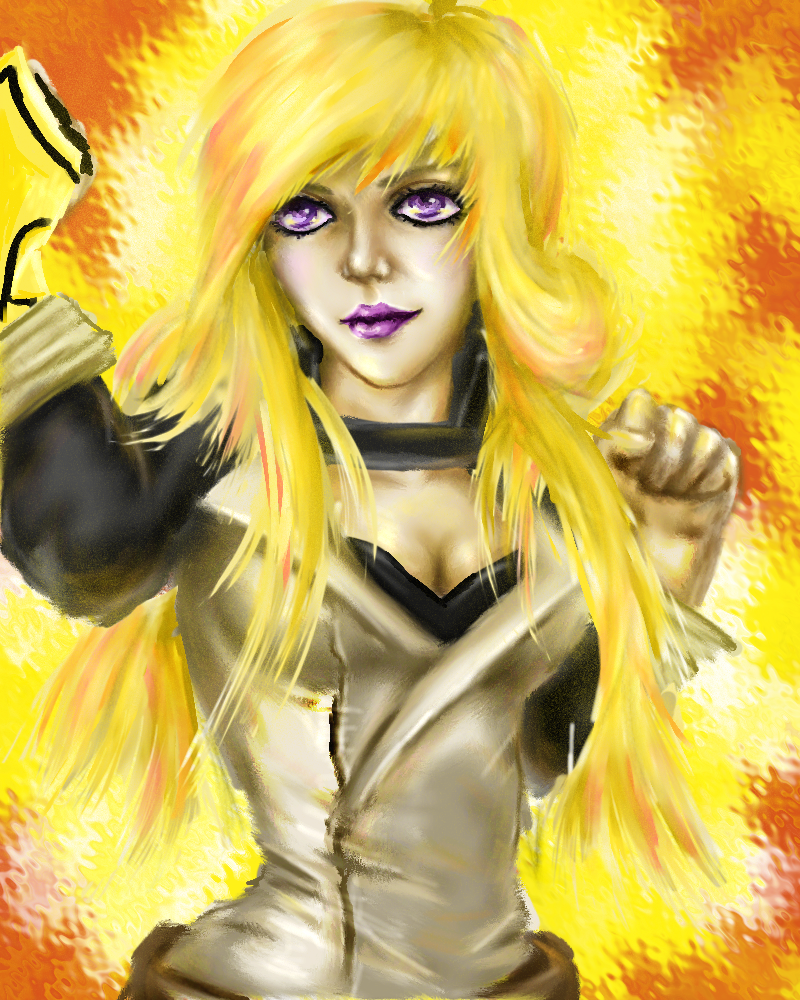 Yang Xiao Long Wallpaper: Yang Xiao Long Fanart By JayEmEl On DeviantArt