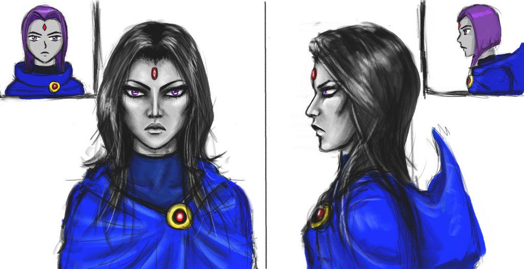 Raven Upper Profile