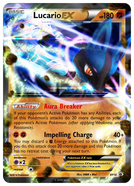 Pokemon Mega Lucario Ex Card Images | Pokemon Images
