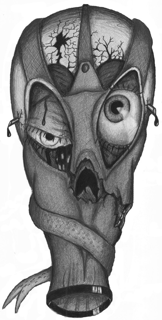 Gas Mask Skull By Sambeam